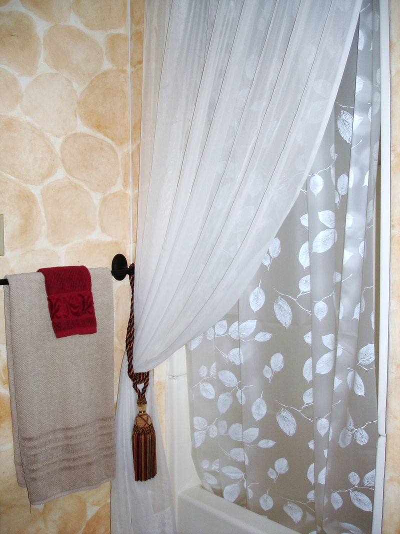 Lining Curtains With Sheets Antler Curtain Tie Backs